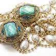 Vintage jewelry - Stock Photo