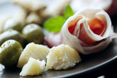 Italian antipasti — Stock Photo