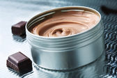 Chocolate butter — Stock Photo