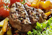 Pepper fillet steak — Stock Photo