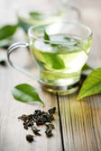 Green tea — Foto Stock