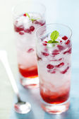 Pomegranate drik — Stock Photo