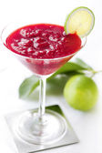 Raspberry daiquiri cocktail — Fotografia Stock