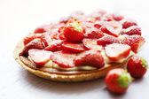 Torta de strawberrt — Fotografia Stock