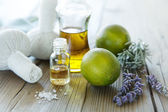 Natural wellness products — Stock Photo