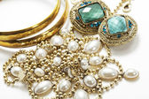 Shiny jewlery — Stock Photo