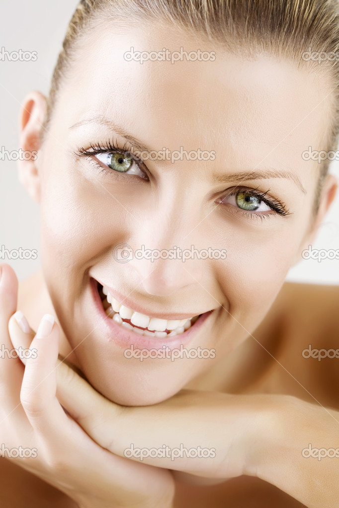 Texture has not been removed from skin — Stock Photo #6363190