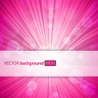 Abstract pink background with place for your text. — Stock Vector