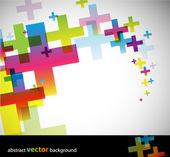 Barevné abstraktní pozadí. — Stock vektor