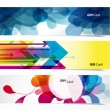 Set of three abstract banners. - Stock Vector