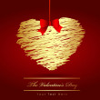 The Valentine's day — Stock Vector