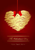 The Valentine's day — Stockvektor