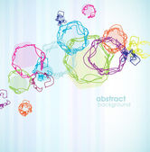 Abstract colored background with circles. — Vetorial Stock