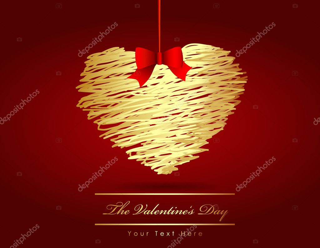 The Valentine's day  Stock Vector #6360523