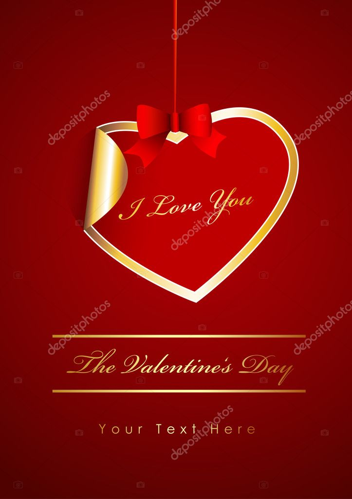 The Valentine's day  Stock Vector #6360544