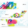 Set of colored banners. — Stock Vector #6386269