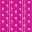 Stock Vector: Pink vector wallpaper pattern.