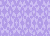 Purple funky wallpaper pattern. Vector — Stock Vector