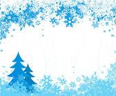 Winter illustration. Vector — Stock Vector