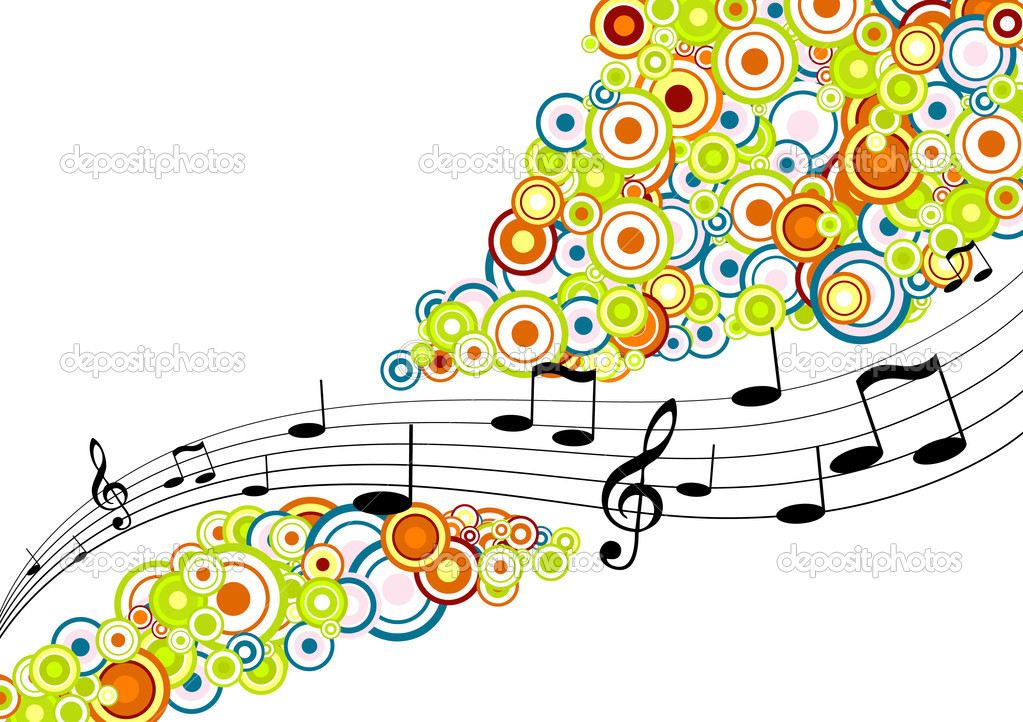 Tunes with circles. Vector art  Stock Vector #6525386