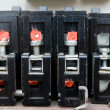 Old circuit breakers — Stock Photo