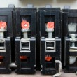 Stock Photo: Old circuit breakers