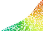 Burbujas de color — Foto de Stock