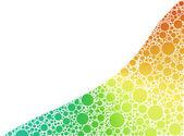 Färg bubblor — Stockfoto
