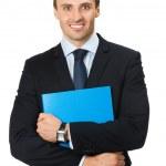 Businessman, isolated on white — Stock Photo #6302437