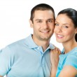 Portrait of young happy smiling couple — Stock Photo #6325712