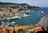 Harbour in Nice — Stock Photo