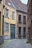 Old Houses in Brugge — Stock Photo