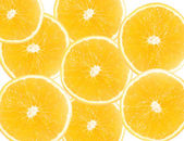 Pieces of Oranges — Stock Photo