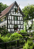 Typical half-timbered house — Stock Photo