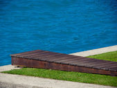 Wooden springboard — Photo
