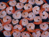 Fried shrimps — Stockfoto