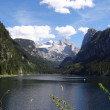 Stock Photo: Dachstein with lake Gosau