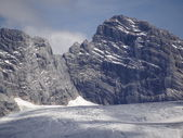 Dachstein closeup — Stock Photo