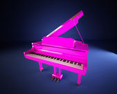 The Pink Piano — Stock Photo