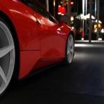 Super car concept — Stock Photo