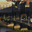 Royalty-Free Stock Photo: Bridge over river in Prague.