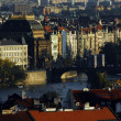 City scape in Prague. — 图库照片