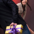 Royalty-Free Stock Photo: Surprise gift