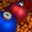 Colored decoration for Christmas — Stock Photo