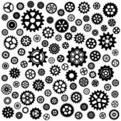 Set of gears — Stock Vector