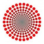 Dots logo — Stock Vector