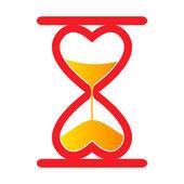 Sand clock — Stock Vector