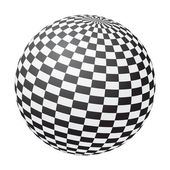 Chessboard ball — Stock Vector