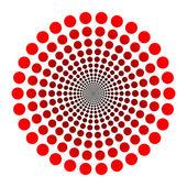 Logo de points — Vecteur
