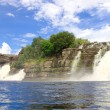 Waterfall at Canaima National Park - Stock Photo